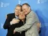 Skarsgard, Ganz e il regista Hans Petter Moland a Berlino