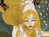 Rapunzel in stile Klimt