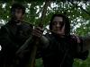 Robin Hood e Arya Stark van nella foresta