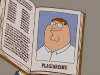 Peter accusato di Plagio in The Simpsons