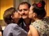 Mastandrea e i suoi 2 figli