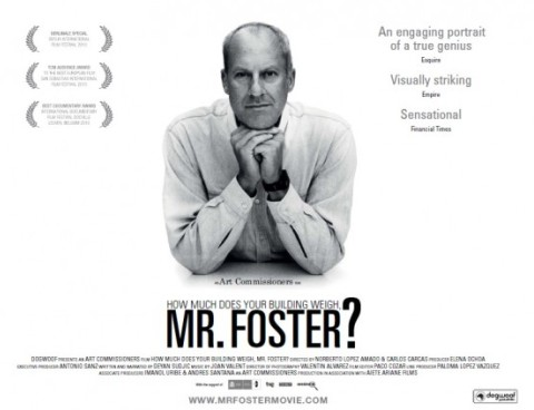How much does your building weigh, Mr. Foster (poster)