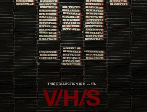 VHS, particolare del poster